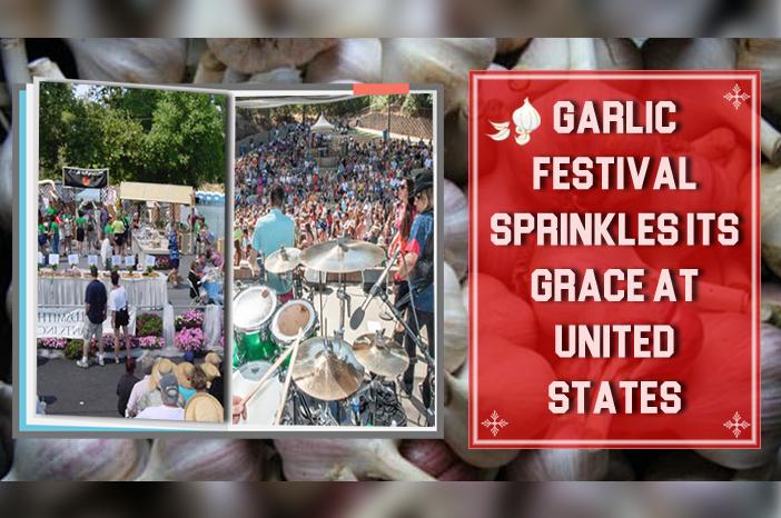 International garlic festival