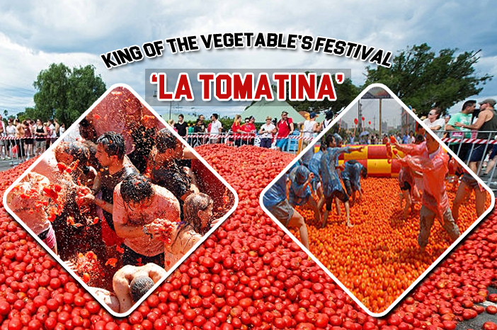 La tomatina veggies festival