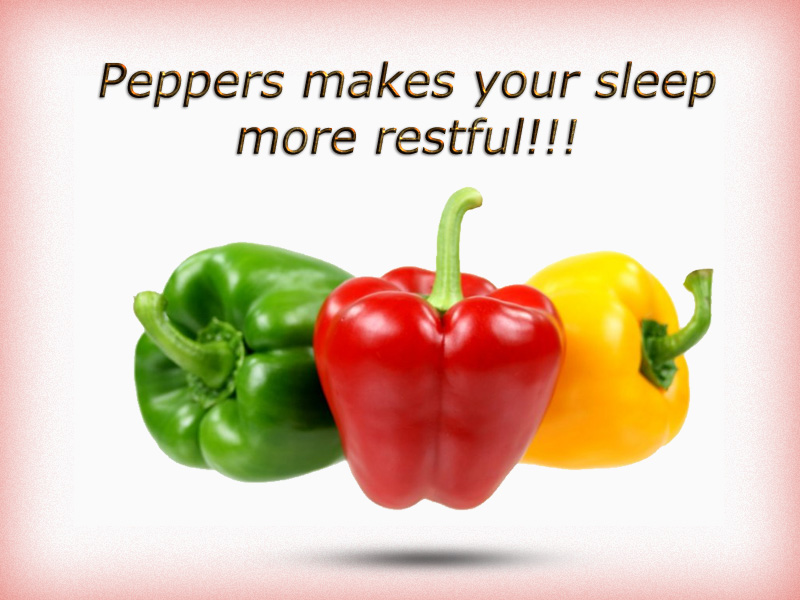 Peppers Makes your sleep more restful