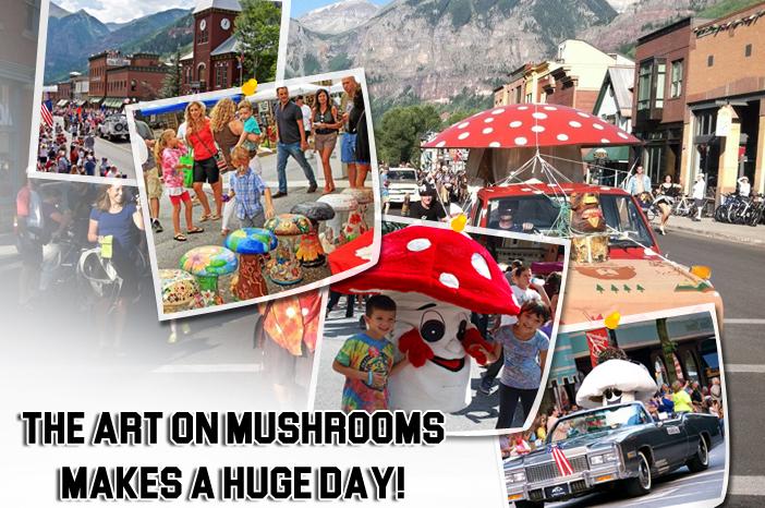 International mushroom festival