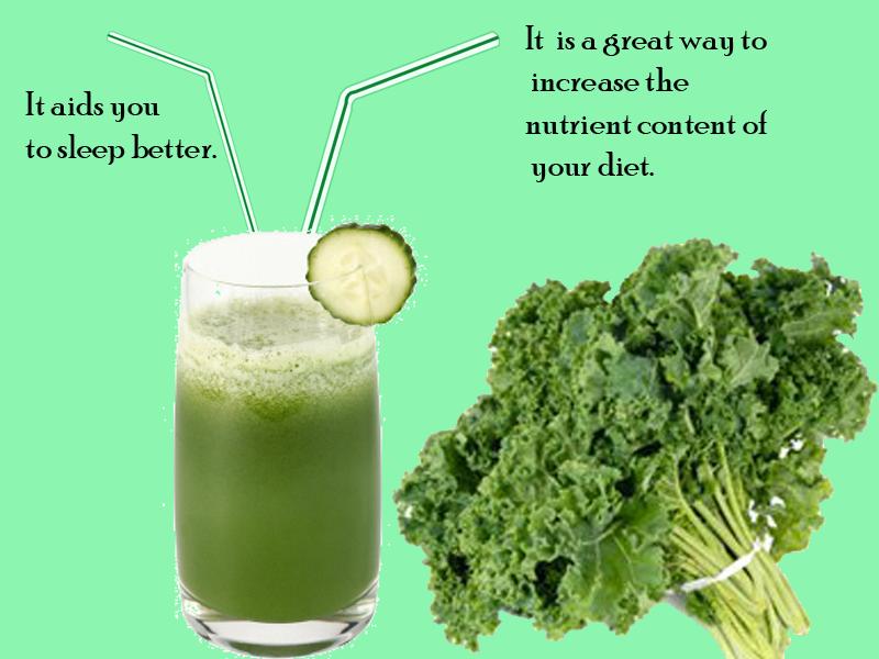 Kale Resource of beneficial nutrients that induces sleep hormones